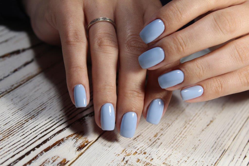 Nails Pizazz | Nail salon 22407 | Spotsylvania VA: Blue Nails